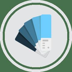 webdesign flat