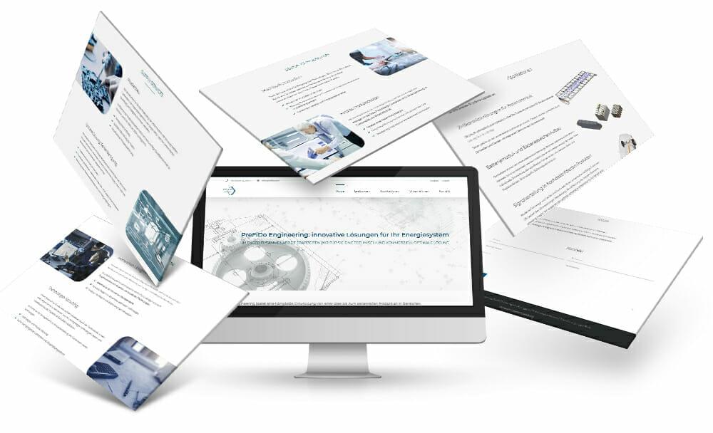 Webdesign fuer Maschinenbau